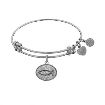 Angelica Christian Fish Charm Bracelet