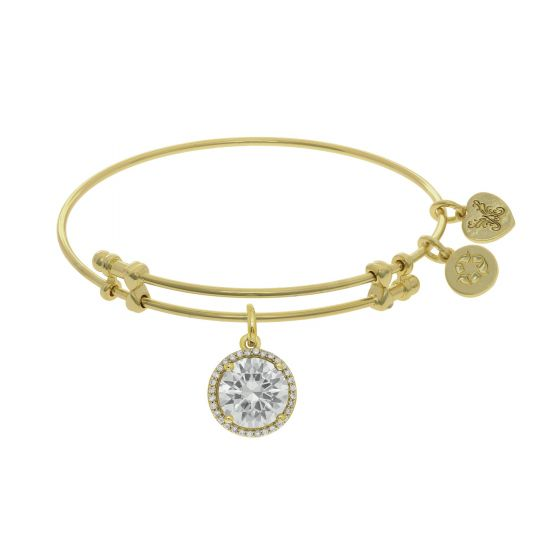 Angelica april Birthstone charm bracelet