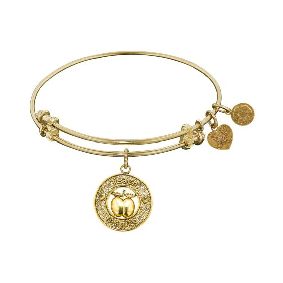 Angelica Teacher Apple Charm Bracelet