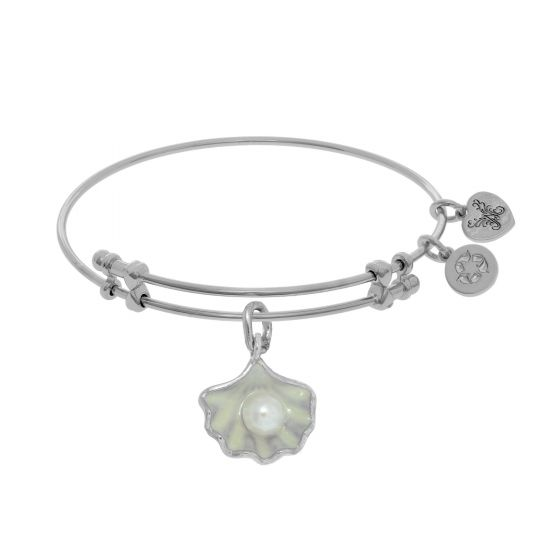 Angelica Oyster Pearl Charm Bracelet