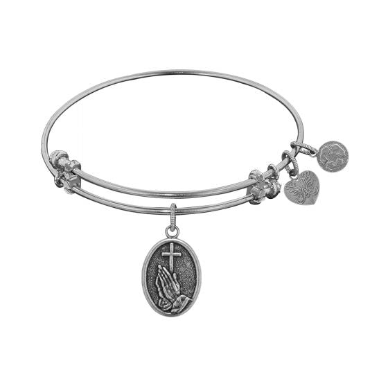 Angelica Praying Hands Charm Bracelet