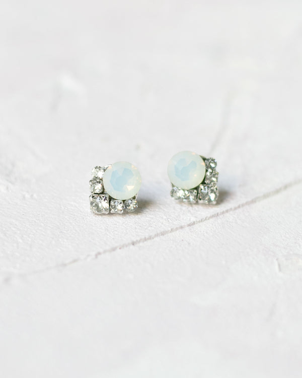Celestial Crystal Cluster Earrings