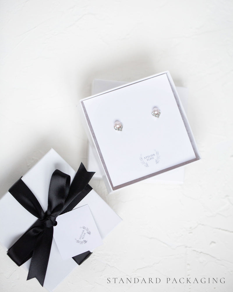 Petite Pearl Stud Earrings