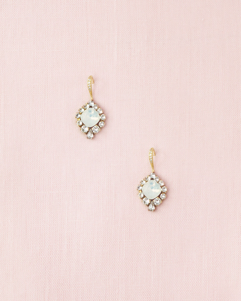 Enchanted Crystal Drop Earrings