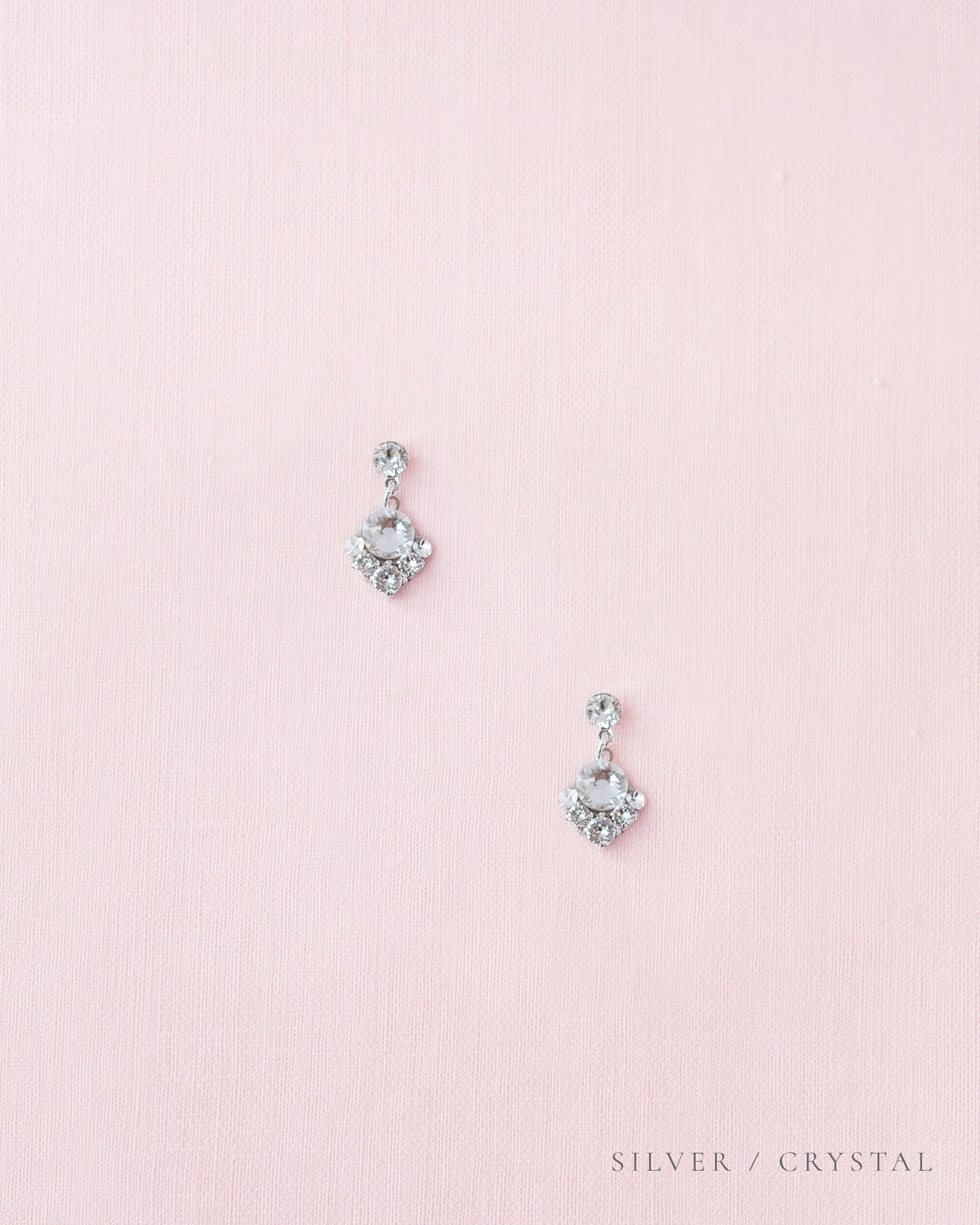 Celestial Crystal Drop Earrings
