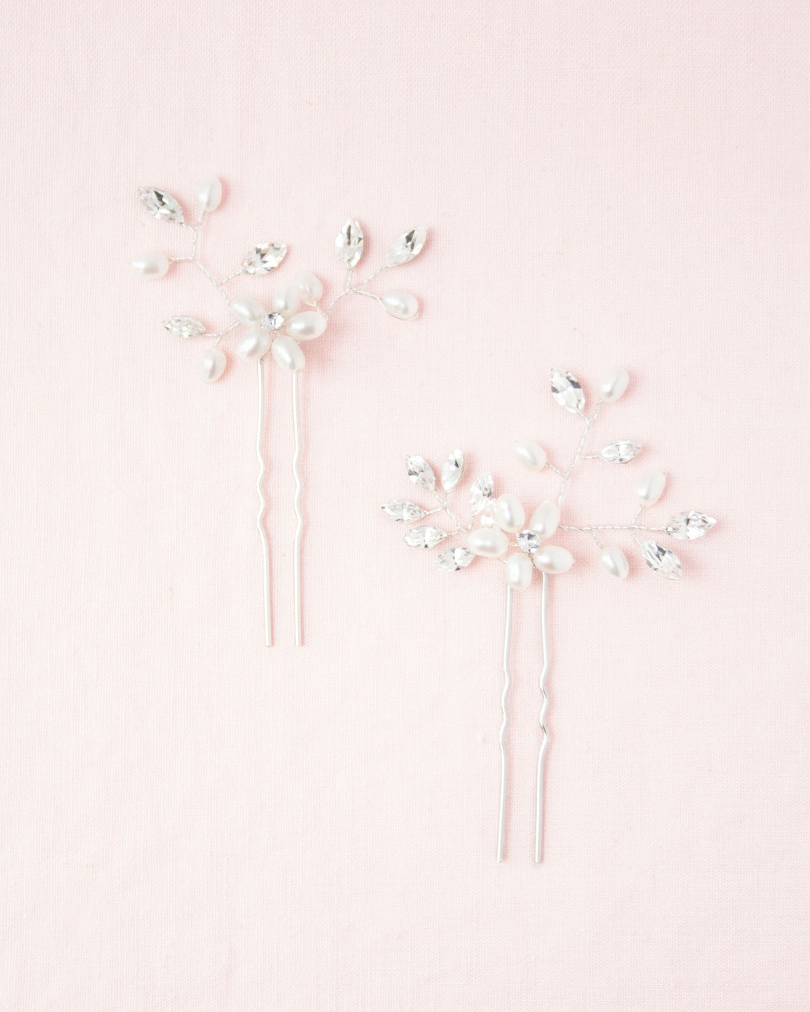 Everthine Pearl & Crystal Hair Pins