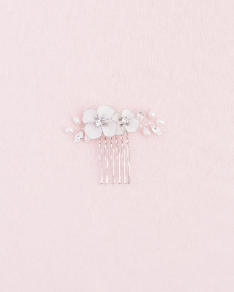 Gilded Blossoms Petite Comb
