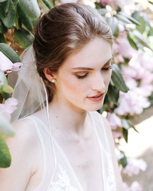 Leila Ribbon Chapel Veil