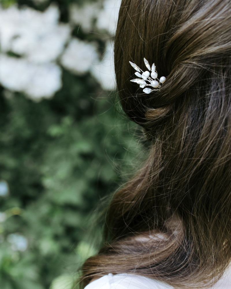 Sea Mist Hair Pins