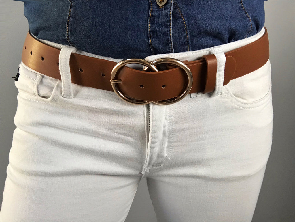 Talia Faux Leather Belt (Multiple colors)