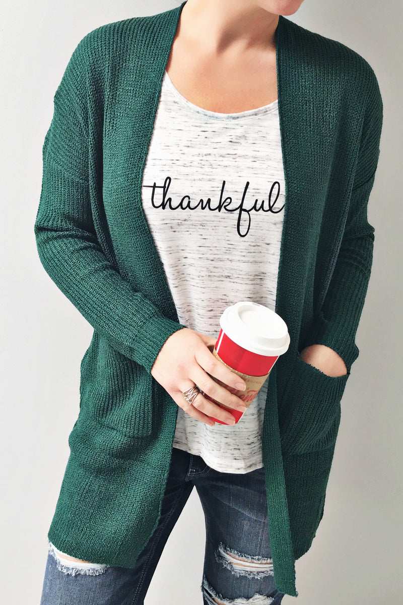 Thankful Slouchy Tee