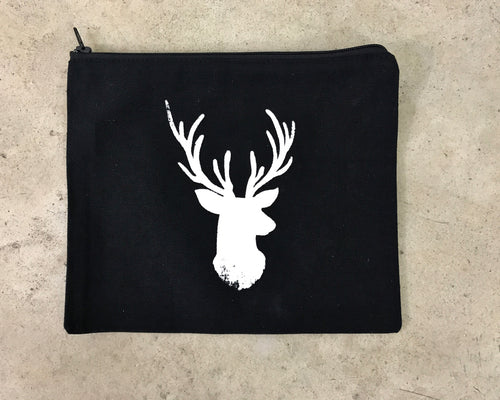 Reindeer Makeup Bag