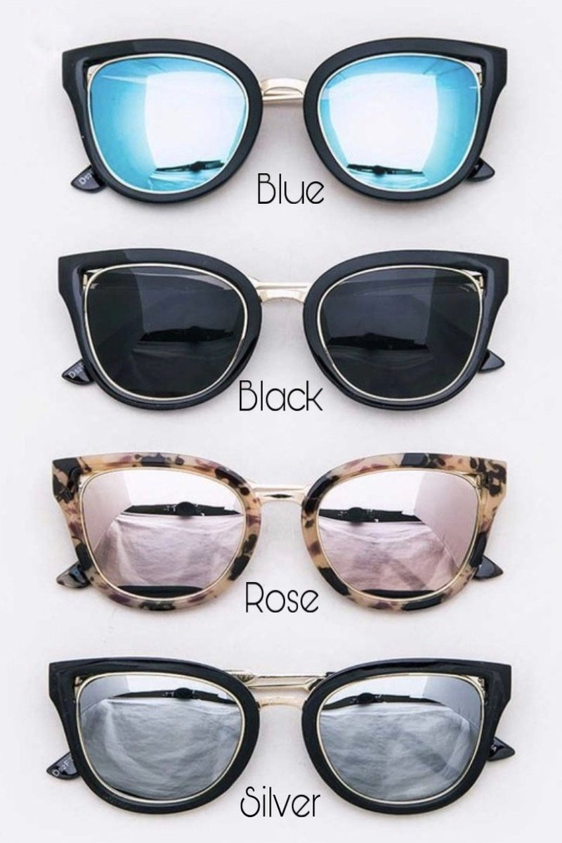 Kate Framed Sunglasses - LURE Boutique