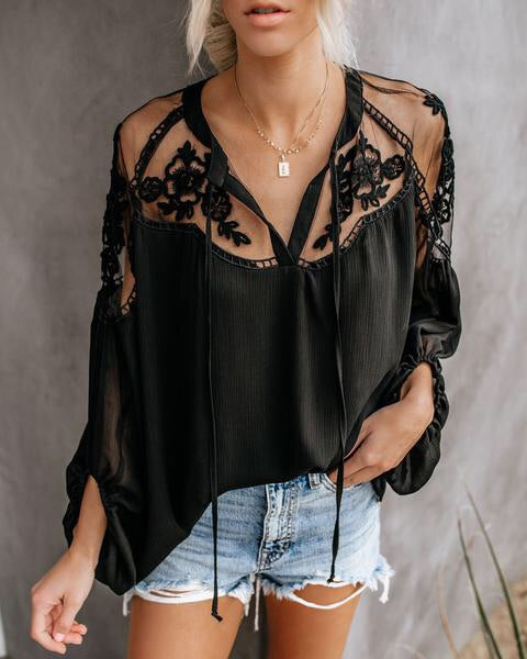 Lusty in Lace Top