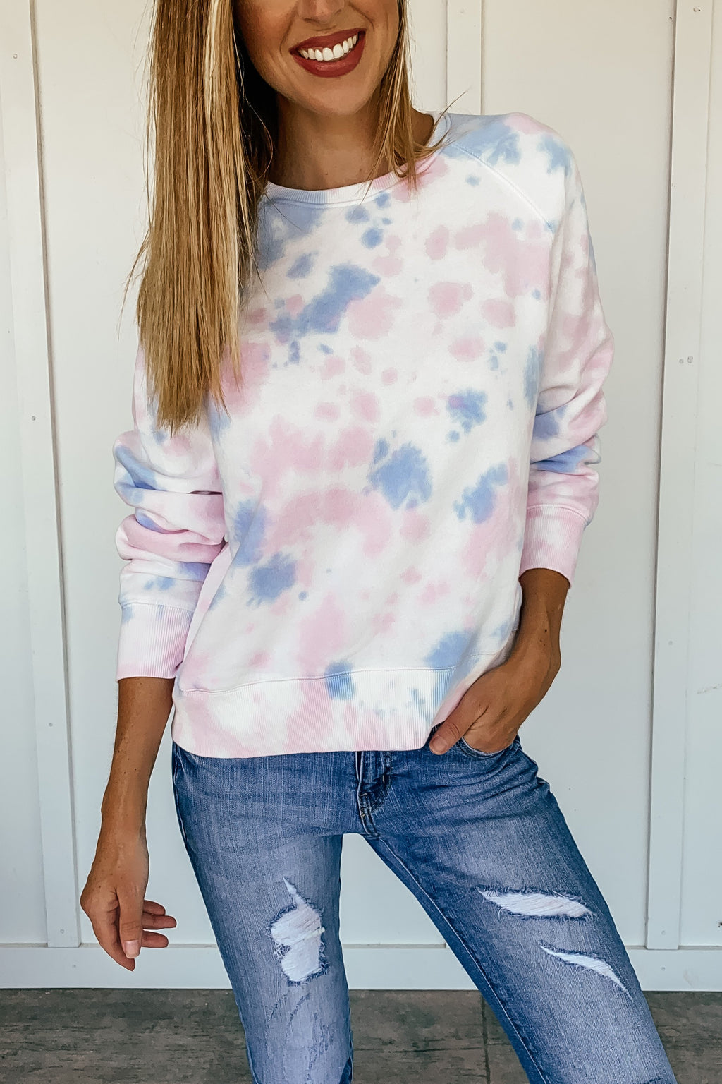 Cotton Candy Tie Dye Sweatshirt