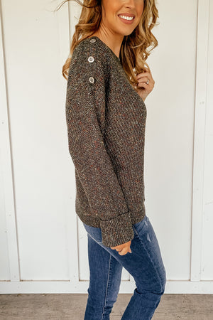 Gentry Crew Neck Sweater - LURE Boutique