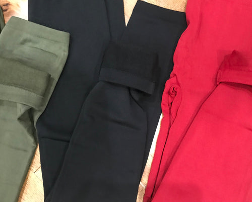Fleece Lined Leggings - 3 colors