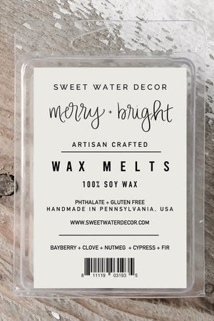 Merry & Bright Wax Melts