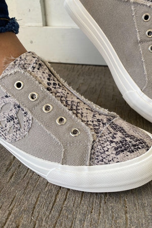 Burning Daylight Sneakers in Snakeskin
