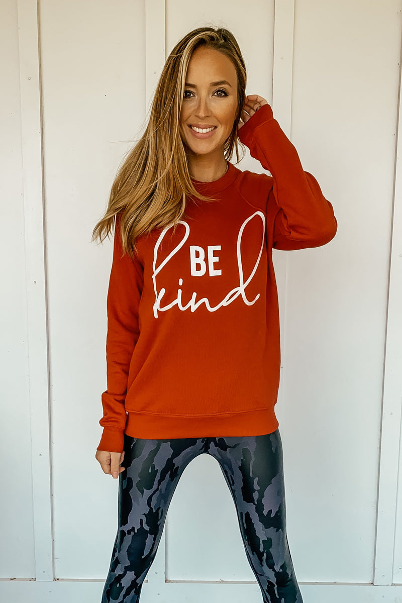 Be Kind Sweatshirt - LURE Boutique