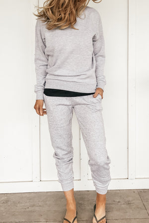 Back to the Basics Joggers in Gray and Black