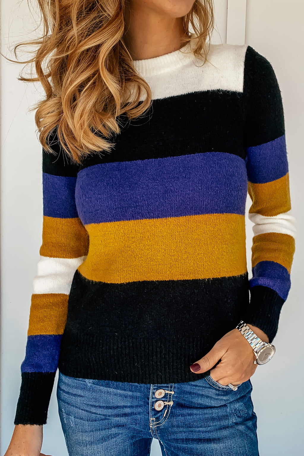 Colleen Crew Neck Sweater