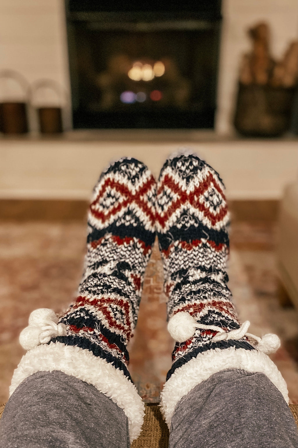 Women's Nordic Lounge Socks