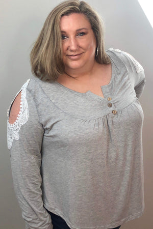 Grace and Lace Top - PLUS - LURE Boutique