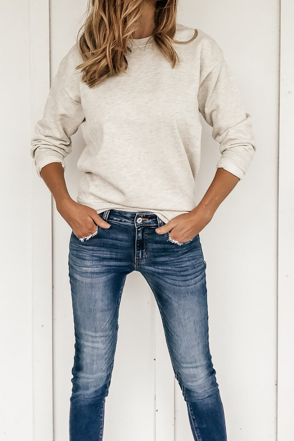 Back to the Basics Pullover Sweatshirt