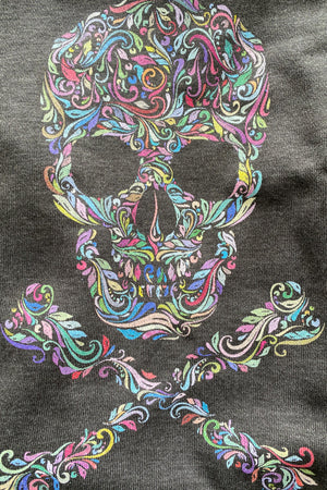 PREORDER - Skull French Terry Sweatshirt