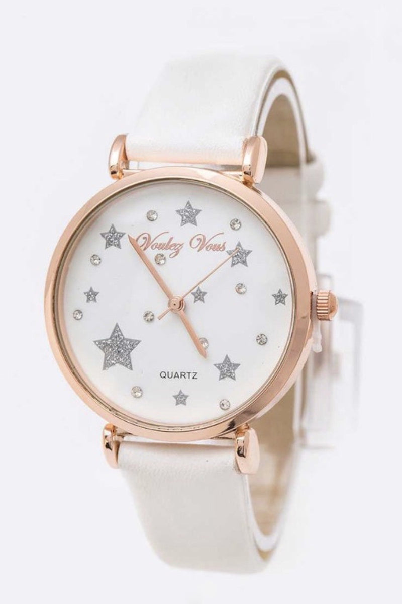 Stars and Crystals Watch (2 Colors)