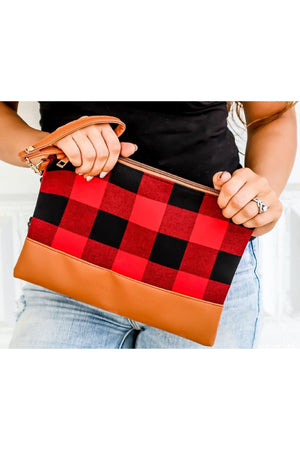 Aspen Wristlet in Red - LURE Boutique