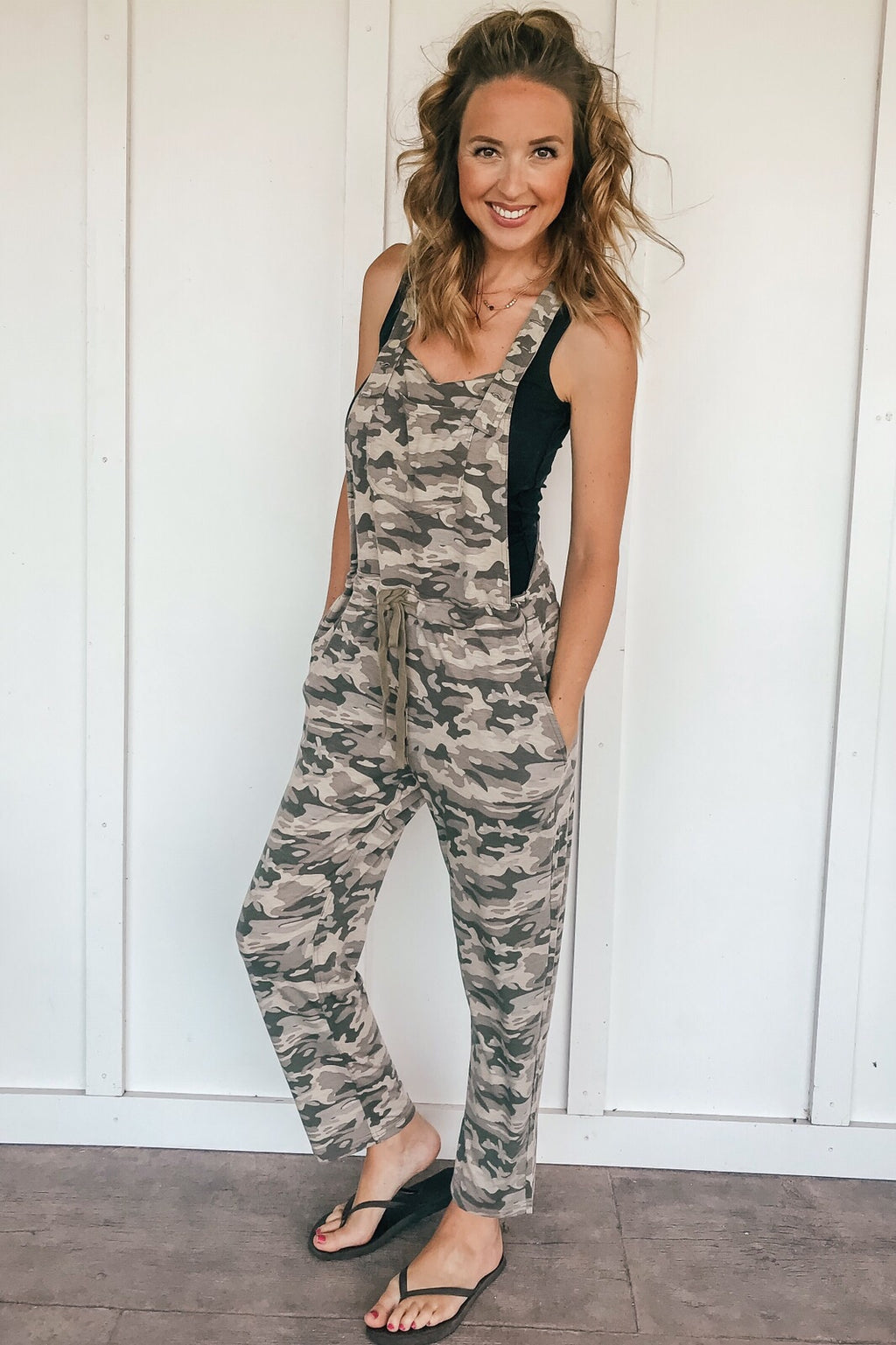 The Cassidy Camo Overalls