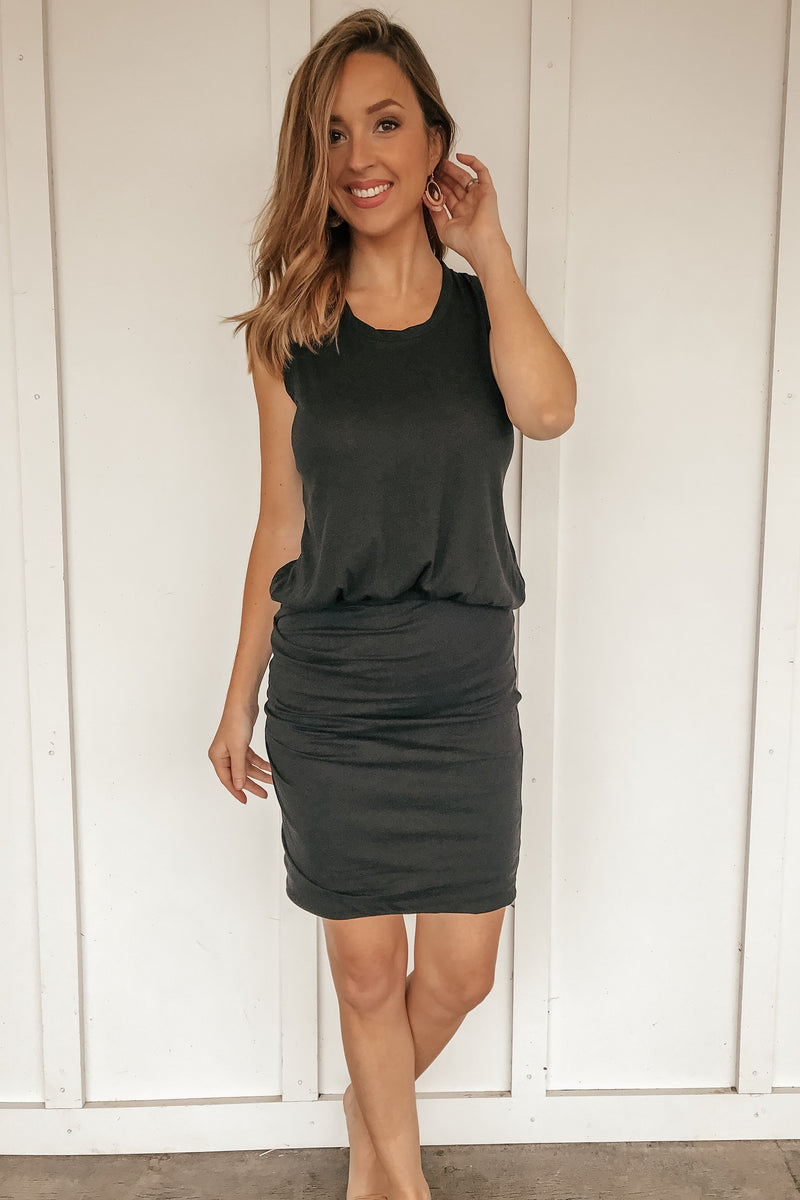 Hot in Here Comfy Black Dress