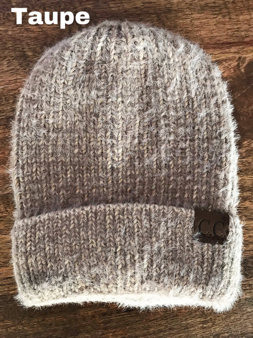 Fuzzy & Soft C.C. Beanies - 4 colors