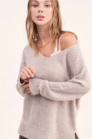 The Sydney Sweater in Oatmeal