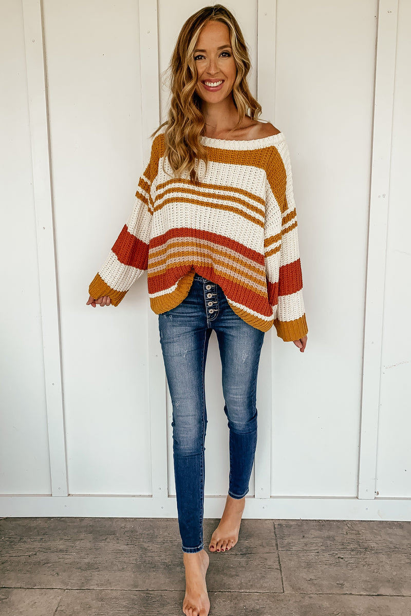 Fall Vibes Oversized Sweater