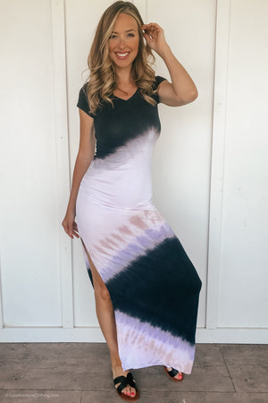 Turning Heads Tie Dye Maxi