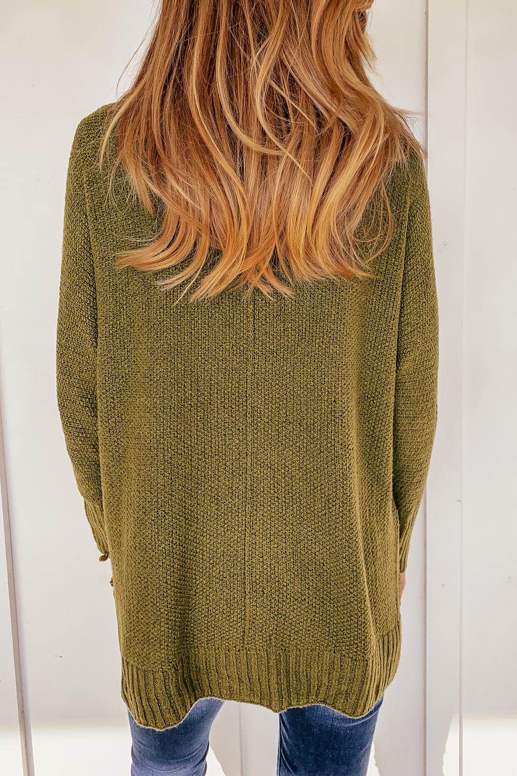 The Sydney Sweater in Olive
