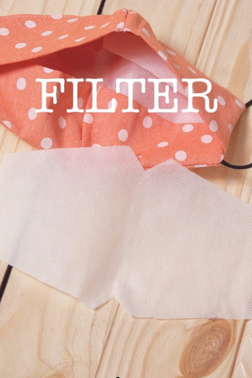 Face Mask Filter Only (Must buy Mask or another item to Purchase)