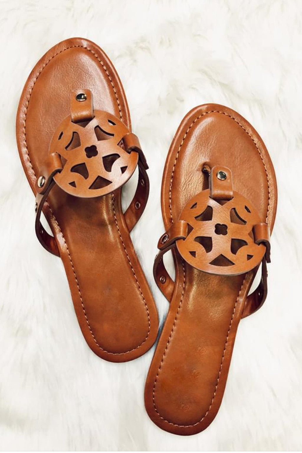 The Naples Studded Sandals
