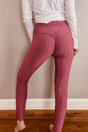Anti- Cellulite Booty Leggings in PLUS
