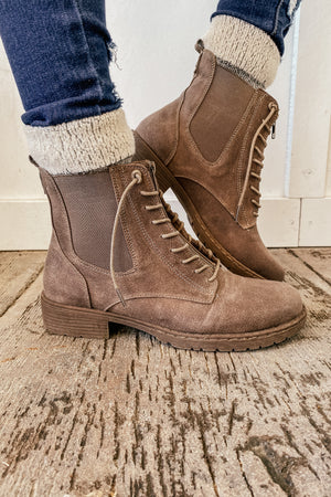 The Kerr Taupe Boots