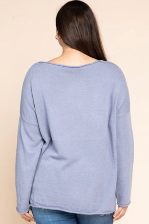 Hello Beautiful Light Sweater - PLUS