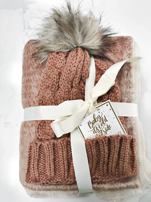 Presley Scarf and Hat Gift Set