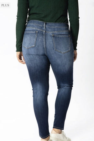 Avery Dark Wash Denim - PLUS