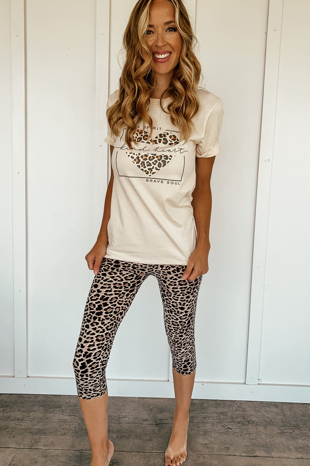 Spirit Heart Soul Tee - LURE Boutique