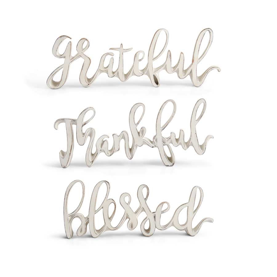 Fall Message Tabletop Cutout - LURE Boutique