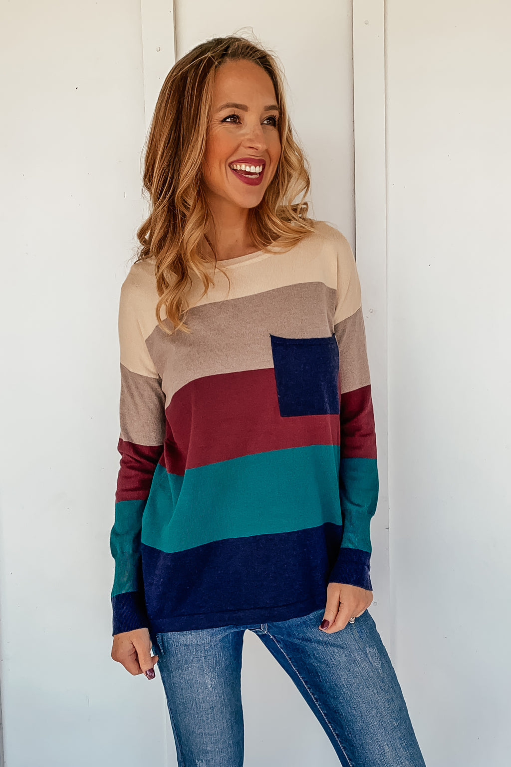 Harvest Colorblock Sweater