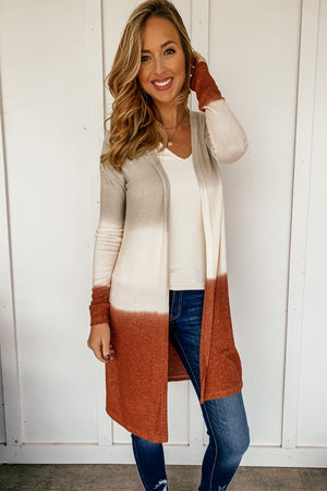 Fall Ombre Cardigan